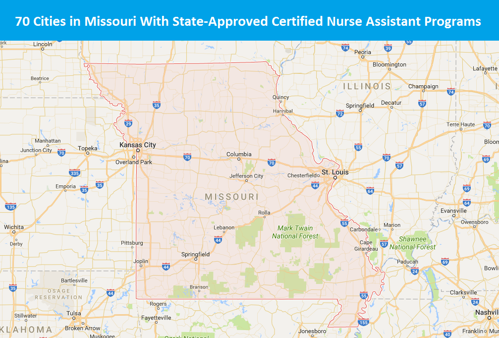 How To Become A Certified Nurse Assistant In Missouri Choosecna
